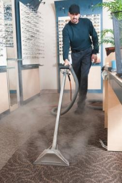 Commercial carpet cleaning in Bryte CA by Clean America Janitorial
