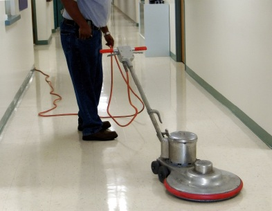 Floor stripping in Woodland CA by Clean America Janitorial